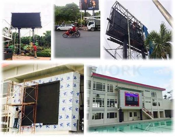 Jasa Design Konstruksi Videotron Surabaya