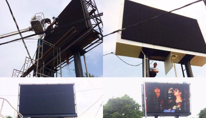 Jasa Pemasangan Videotron Surabaya