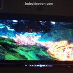Videotron P10 SMD3528 RGB indoor led cabinets sudah di pasang indovideotron.com