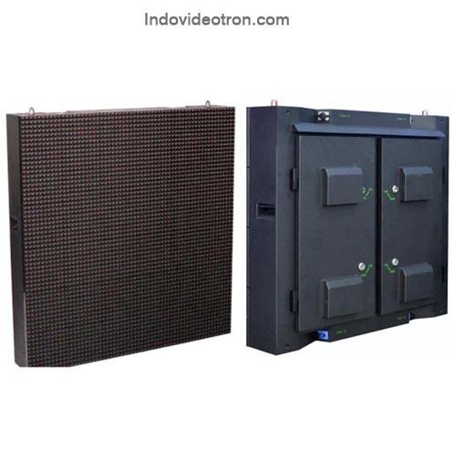 Videotron P16 DIP 346 RGB outdoor led cabinets depan dan belakang indovideotron.com