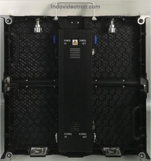 videotron model P4,81 SMD2121 indoor Die-casting aluminum cabinet back