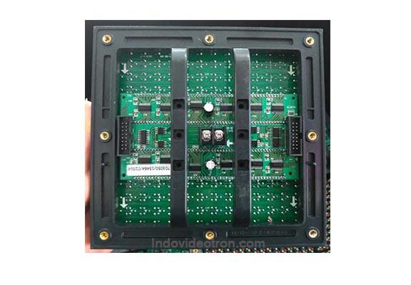 videotron type P10 DIP346 outdoor full color led modules back luar ruangan