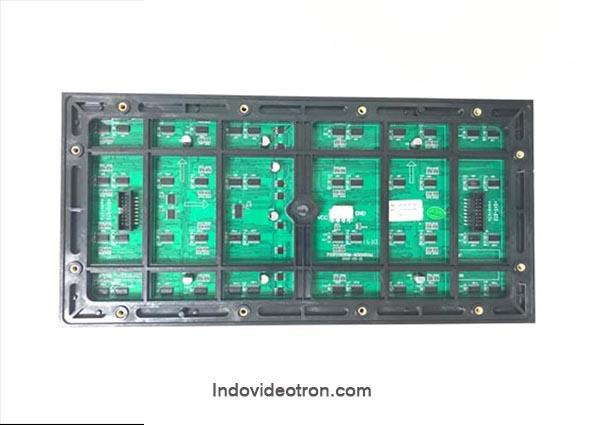 videotron type P10 SMD3535 outdoor RGB led module 1/2 scan back luar ruangan