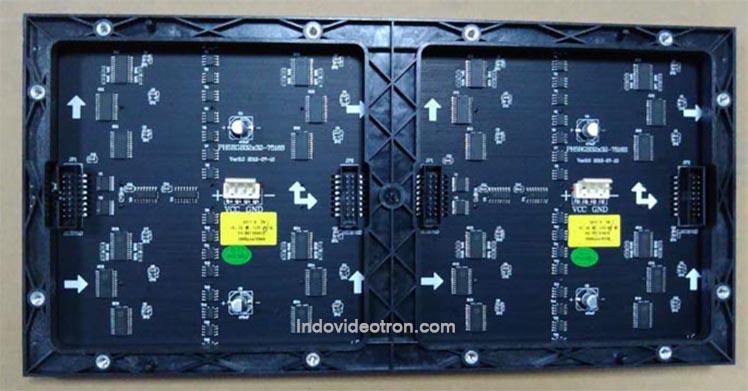 videotron type P5 SMD3528 indoor RGB led module 1/16 scan back dalam ruangan