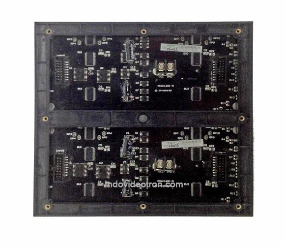 videotron type P6 SMD3528 indoor RGB led module 1/16 scan back dalam ruangan