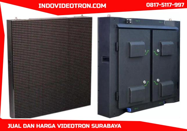 Jual videotron murah P10 DIP346 outdoor led display for fixed