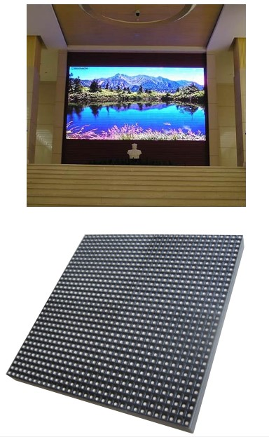 Tampilan modul videotron untuk outdoor